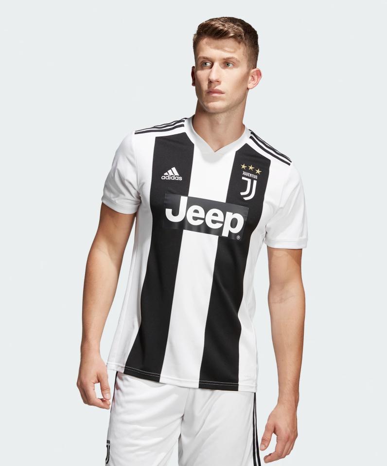 Maillot de Football Adidas Juventus Domicile 2018