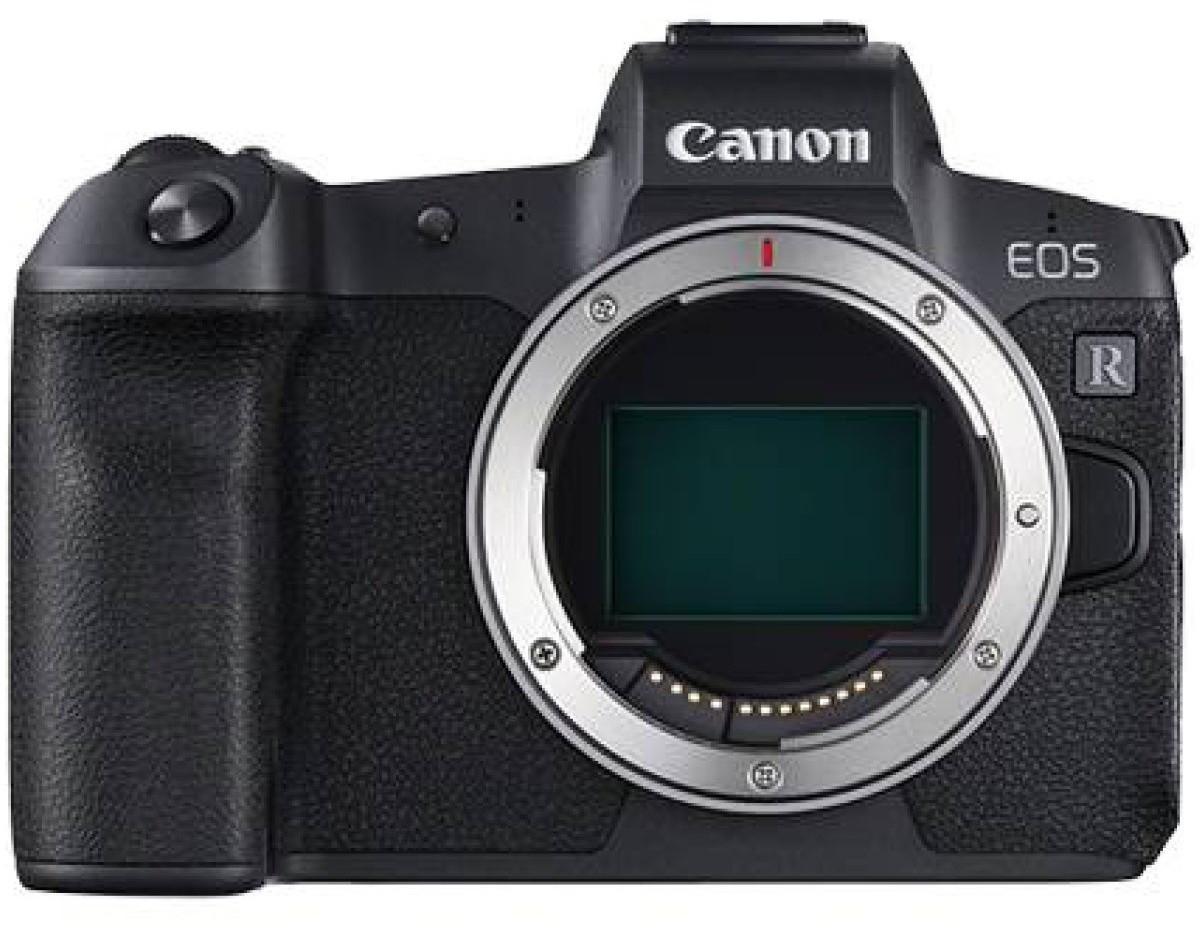 Appareil photo hybride Canon EOS R (30.3 Mpix, CMOS) + bague d'adaptation (via ODR de 200€)