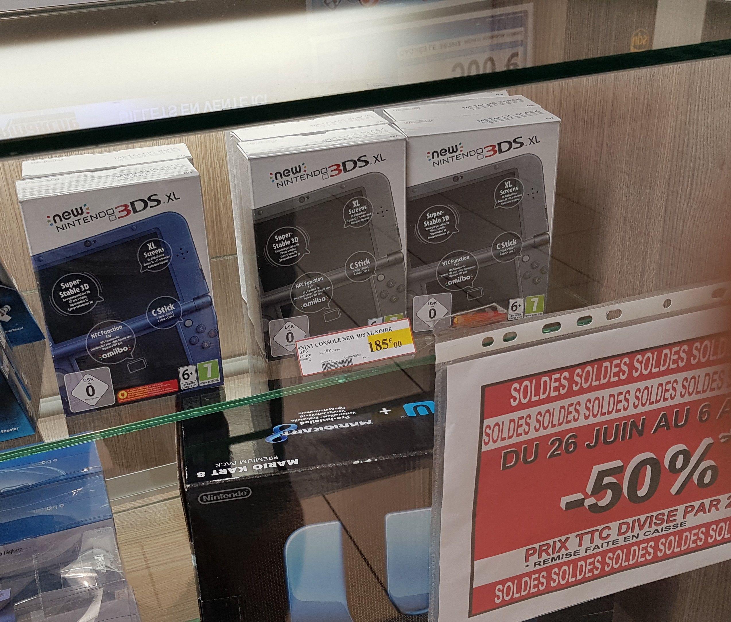 Console portable New Nintendo 3DS XL (Différents Coloris) - Ploërmel (56)