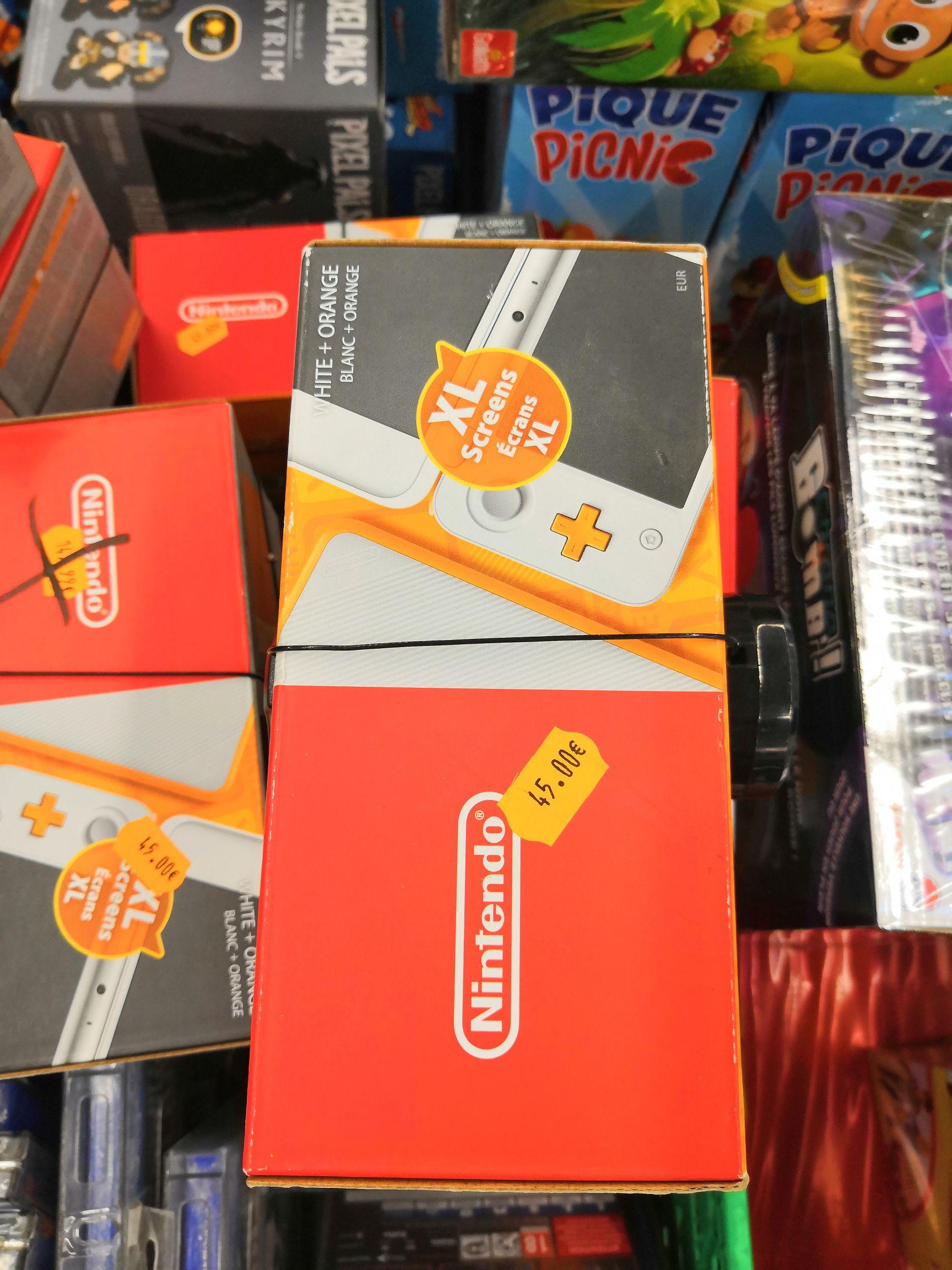 Console portable Nintendo 2DS XL blanche et orange - Ajaccio (2A)