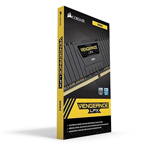 Kit Mémoire Corsair Vengeance LPX - 16Go (2x8Go), DDR4, 3200MHz C16 - Black