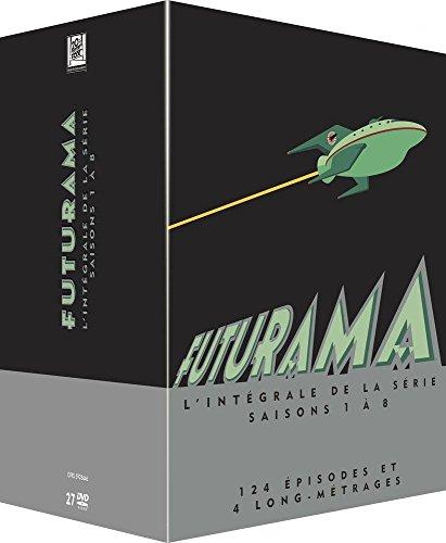 Coffret DVD : Futurama - L'intégrale des Saisons 1 à 8 + 4 Longs Métrages