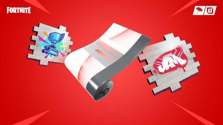 2 Sprays + 1 Skin d'arme offert sur Fortnite (Dématérialisé)