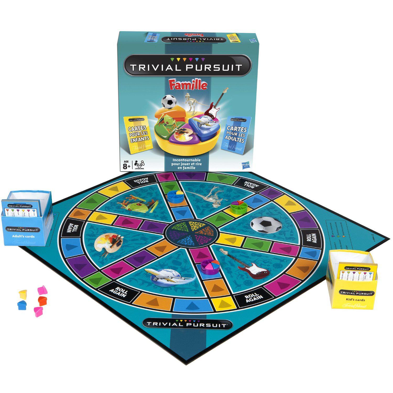 Jeu de Société Hasbro - Trivial Pursuit Famille