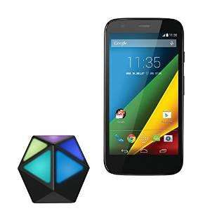 "Smartphone 4.5"" Motorola Moto G 4G Noir + Récepteur audio Bluetooth Moto Stream (ODR de 20€)"