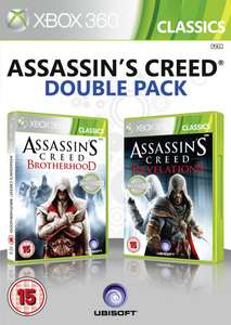 Assassin's Creed Double Pack (Brotherhood et Revelations) XBOX 360 - Seulement en anglais