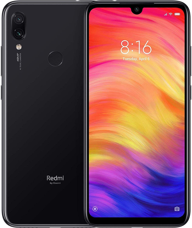 "Smartphone 6,3"" Xiaomi Redmi Note 7 - Full HD+, Snapdragon 660, 3 Go RAM, 32 Go ROM, Noir, (B20 - Version Italienne)"
