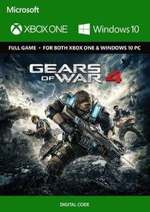 Gears of War 4 sur Xbox One / PC Windows 10 (Dématérialisé)