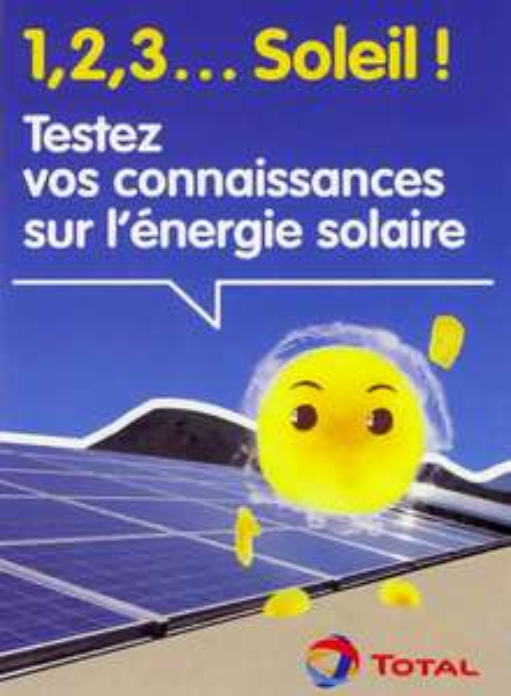 Jeu de cartes sur l'énergie solaire gratuit
