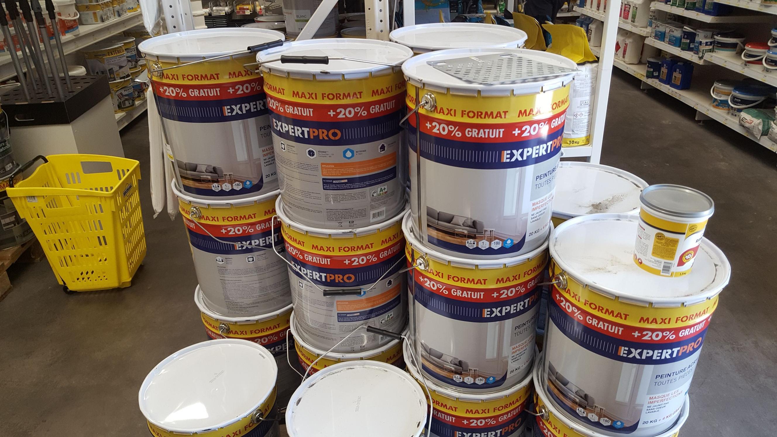 Pot de Peinture acrylique mat Expert pro (24 L) -  Peymeinade (06)