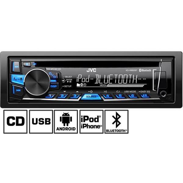 Autoradio Bluetooth JVC KD-R862BTE (ODR de 30€)