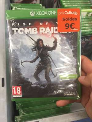 Rise of the Tomb Raider sur Xbox One - Saint Quentin (02)