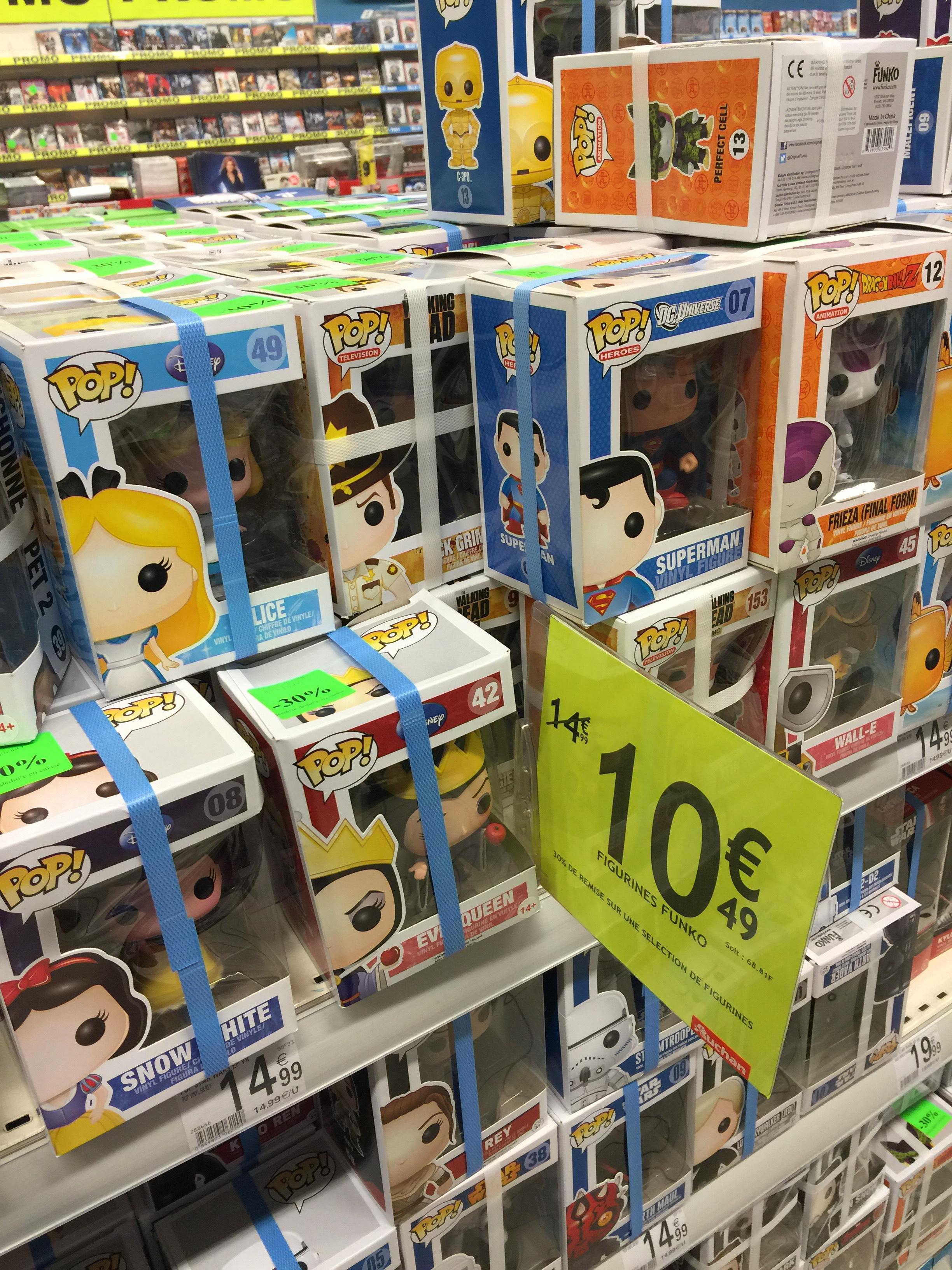 Sélection de figurines Pop FunKo - Diverses licences