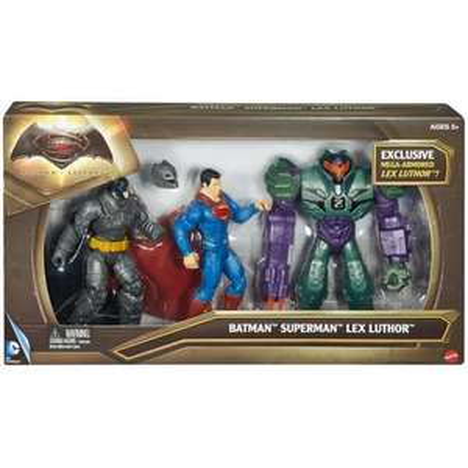 Pack de figurines 17 cm - DC Comics Batman Vs Superman Lex Luthor