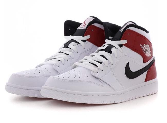 Sneakers Montantes Nike Air Jordan 1 Mid Tailles au choix