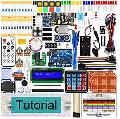 Kit de démarrage Freenove Arduino Uno R3 - 217 Pièces + Livre tutoriel en Anglais (Vendeur tiers)