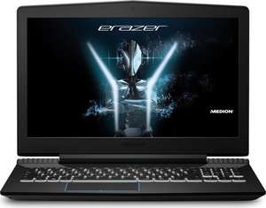 """PC Portable 15.6"""" Medion Erazer X6603  - i7-7700HQ, 16 Go de RAM, 256Go SSD, GeForce GTX 1050Ti 4 Go, Clavier QWERTZ (Frontaliers Suisse)"""