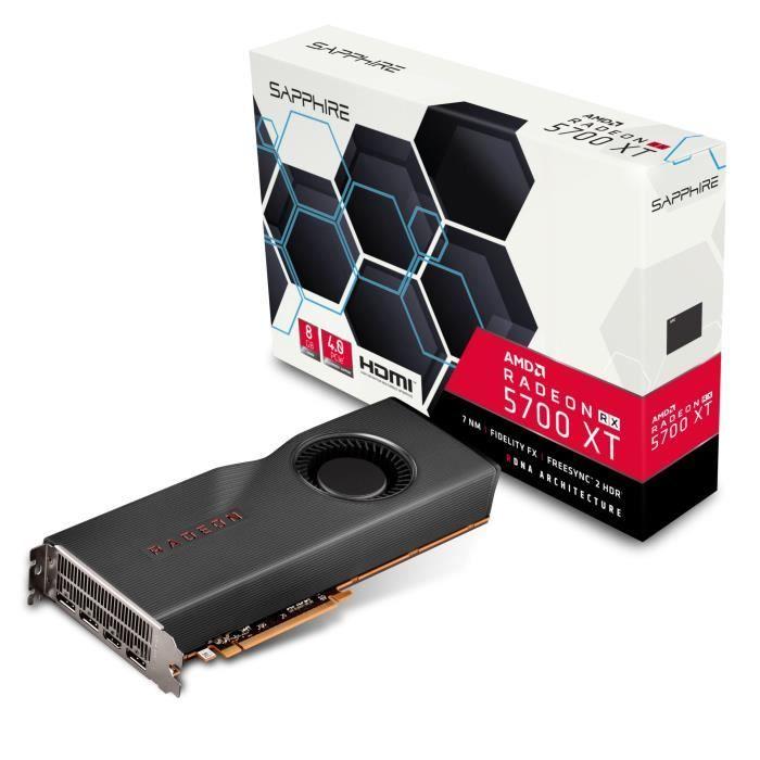 Carte Graphique Sapphire Radeon RX 5700 XT - 8 Go