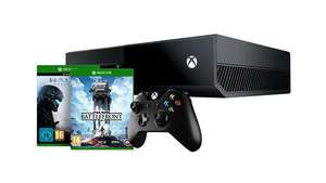 Pack Console Xbox One 500 Go + Star Wars Battlefront + Halo 5 : Guardians