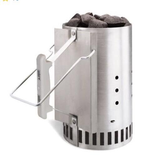 Cheminée d'allumage Weber Rapidfire pour barbecue à charbon