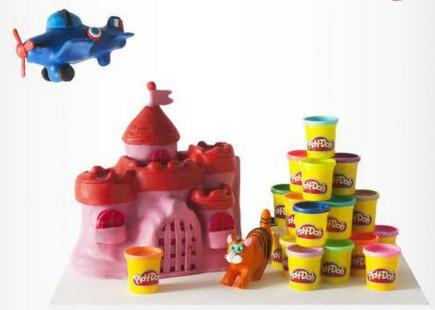 Pack de 20 pots de pâte à modeler Play Doh- Plastique 85 g - Multicolore