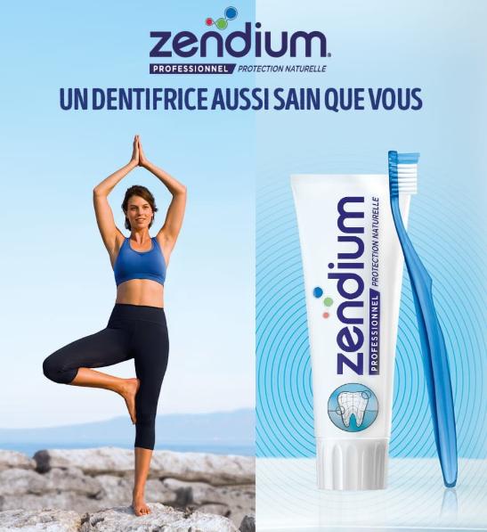 Sélection de produits dentaires Zendium Professionnel gratuit via Shopmium (En Pharmacie uniquement)