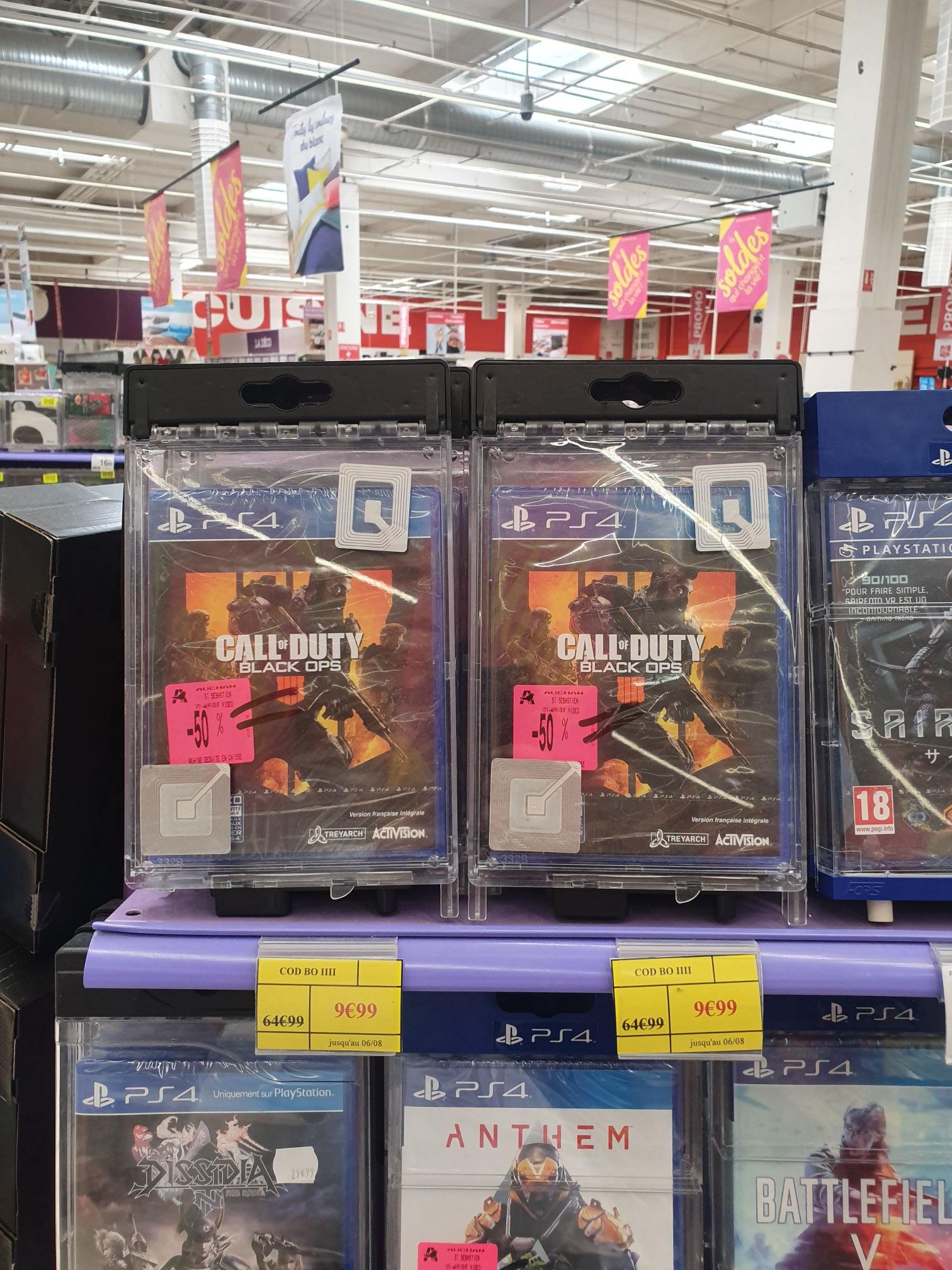 Sélection de jeux en promotion (Ex: Call of duty Black Ops IIII sur PS4 - Saint Sébastien (44)