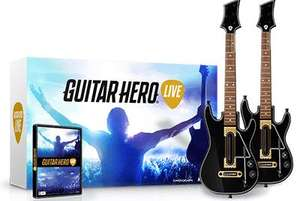 Guitar Hero Live + 2 Guitares sur PS4 et Xbox One