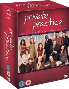 Private Practice Coffret DVD des saisons 1 à 5,