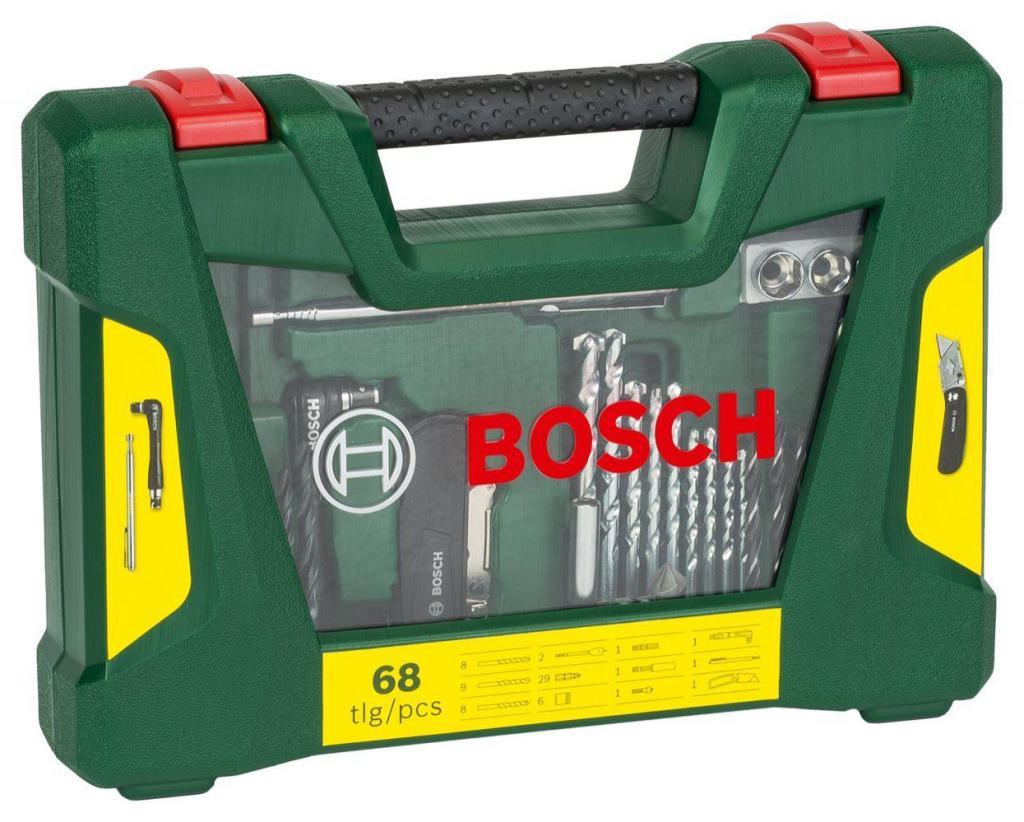 Coffret Bosch V-Line de 68 Outils de perçage/vissage