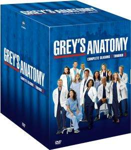 Grey's Anatomy Saison 1 a 8