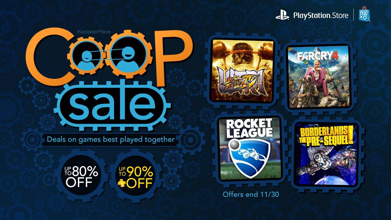 Jusqu'à 80% de réduction sur une sélection de jeux Playstation + 10% de réduction supplémentaire - Ex : Rocket League sur PS4