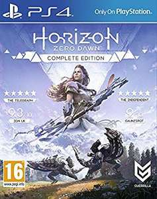Horizon Zero Dawn Edition complète sur PS4
