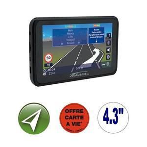 """GPS 4,3"""" Takara GP83CAV - 16 pays - Cartes TomTom gratuites à vie"""