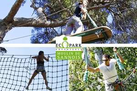 2 entrées à l'Ecopark Adventures