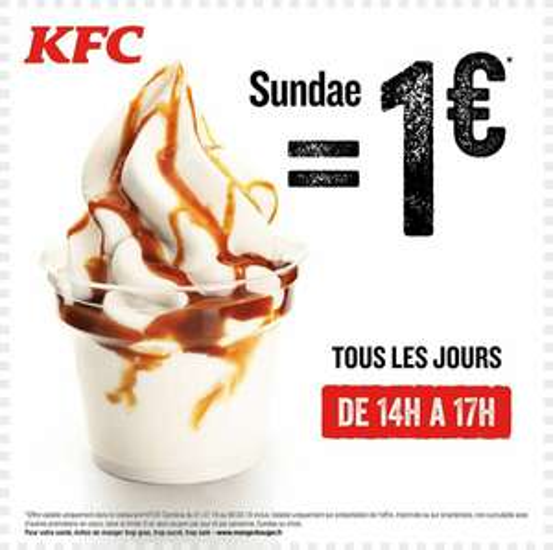 [14-17h] Sundae à 1€ - Cambrai (59)
