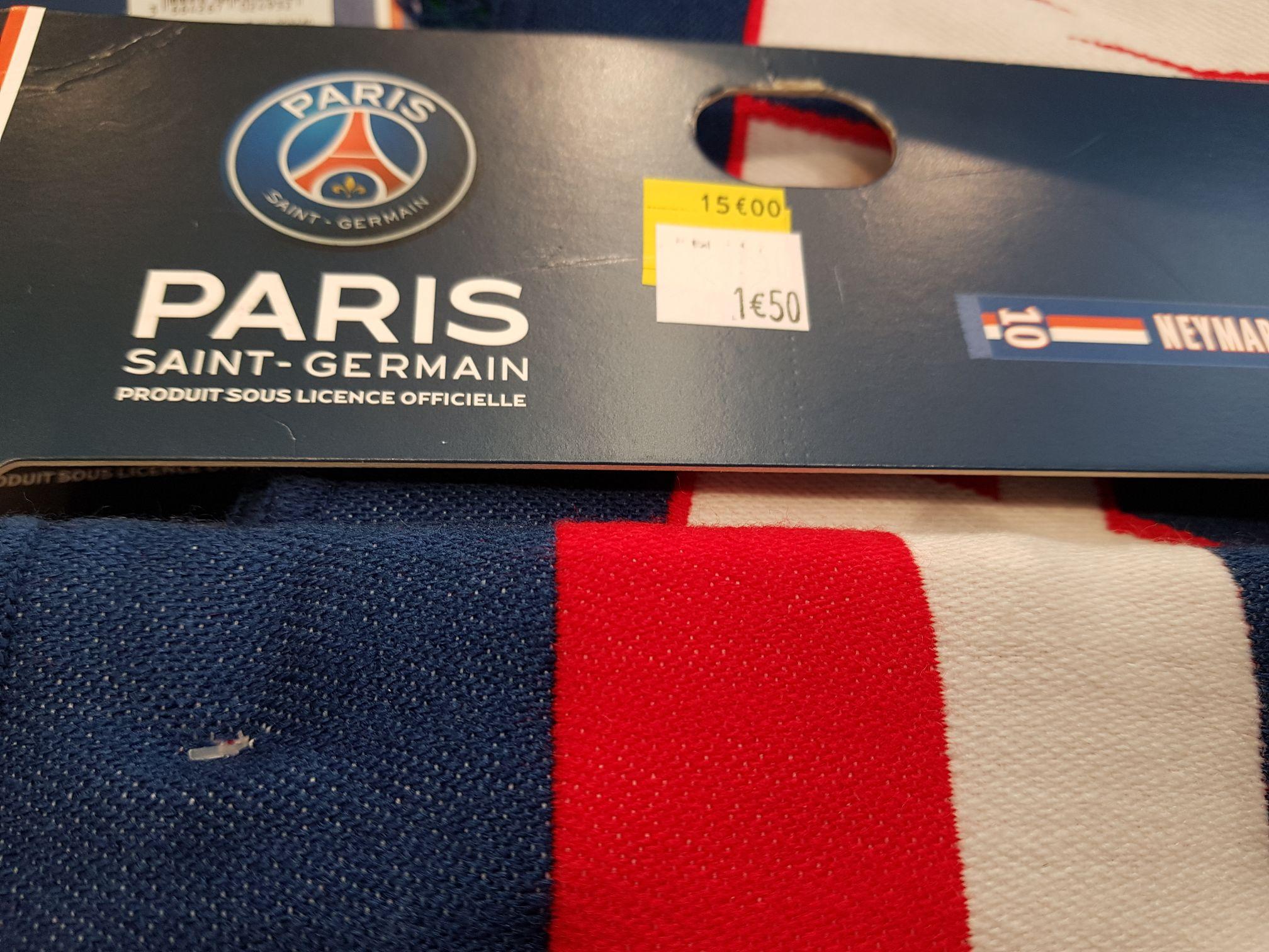 Écharpes du PSG  Neymar bleu ou jaune (Champs sur Marne 77)