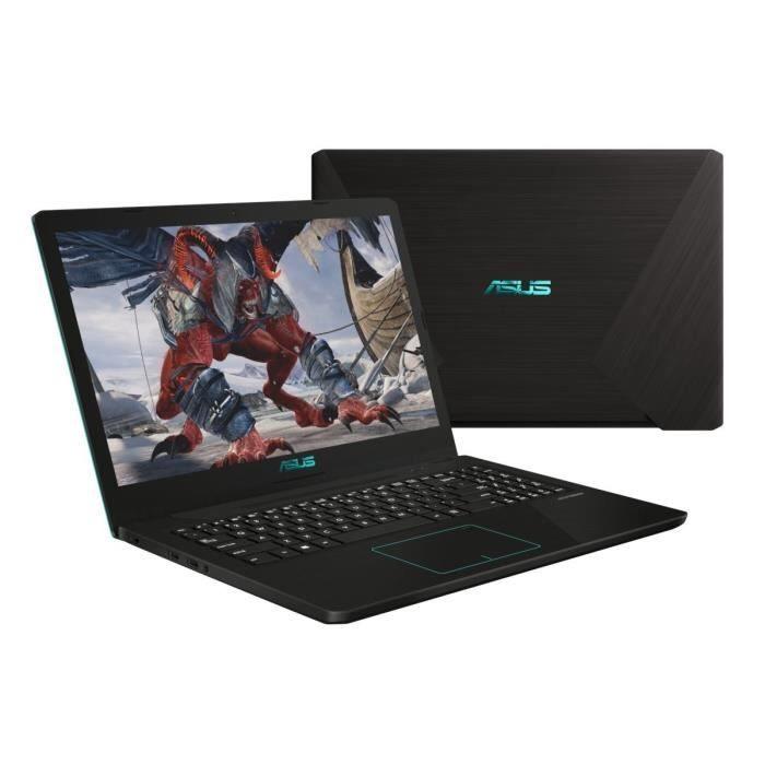 """PC Portable 15.6"""" Asus FX570ZD-DM121 - AMD R5-2500U, 8 Go de Ram, 128 Go SSD + 1 To, GeForce  GTX1050"""