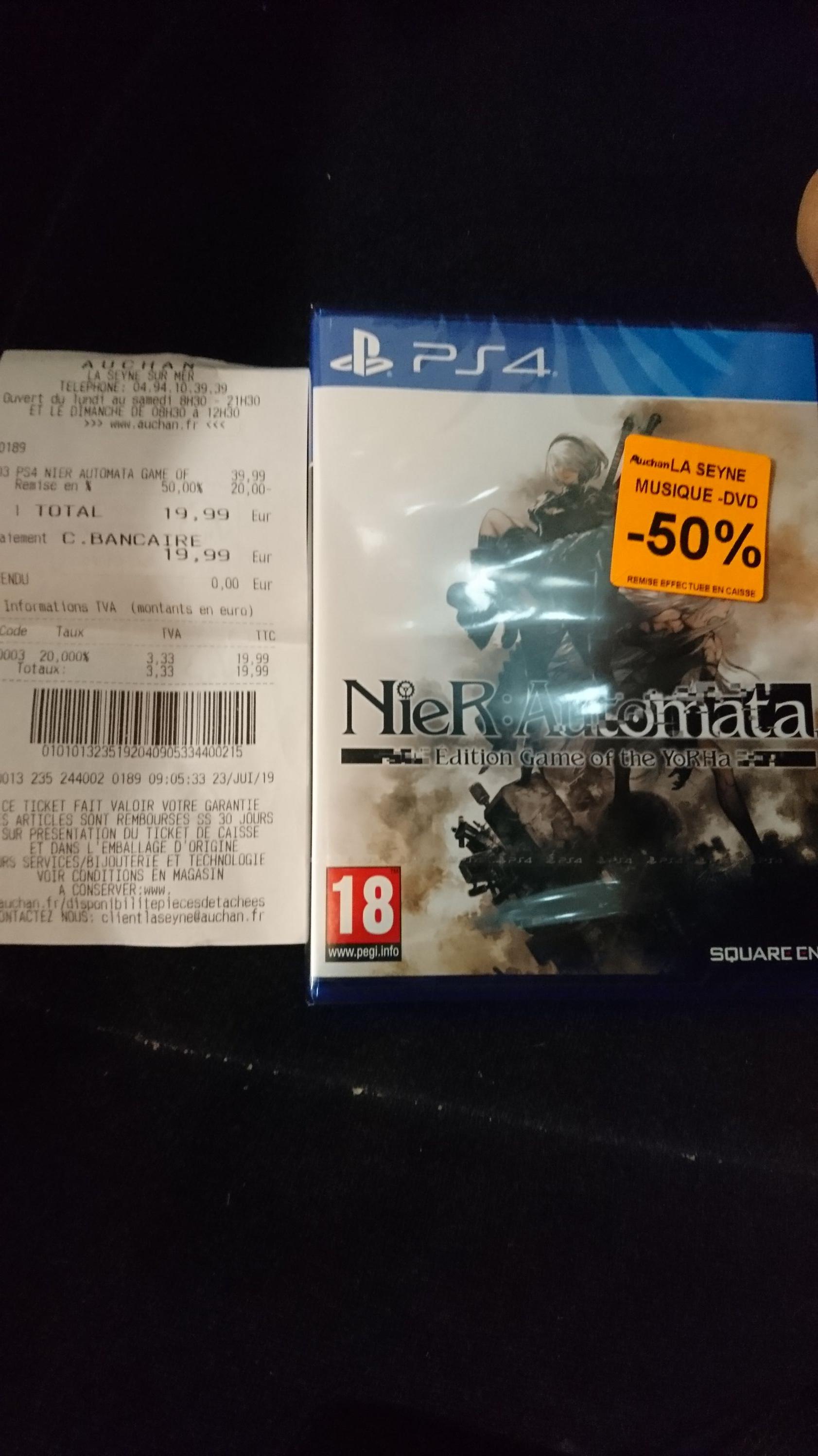 Nier: Automata goty sur PS4 -  La Seyne (83)