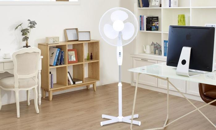 Ventilateur sur pied Davis & Grant -  40 cm , 3 vitesses, fonction oscillation, 45W