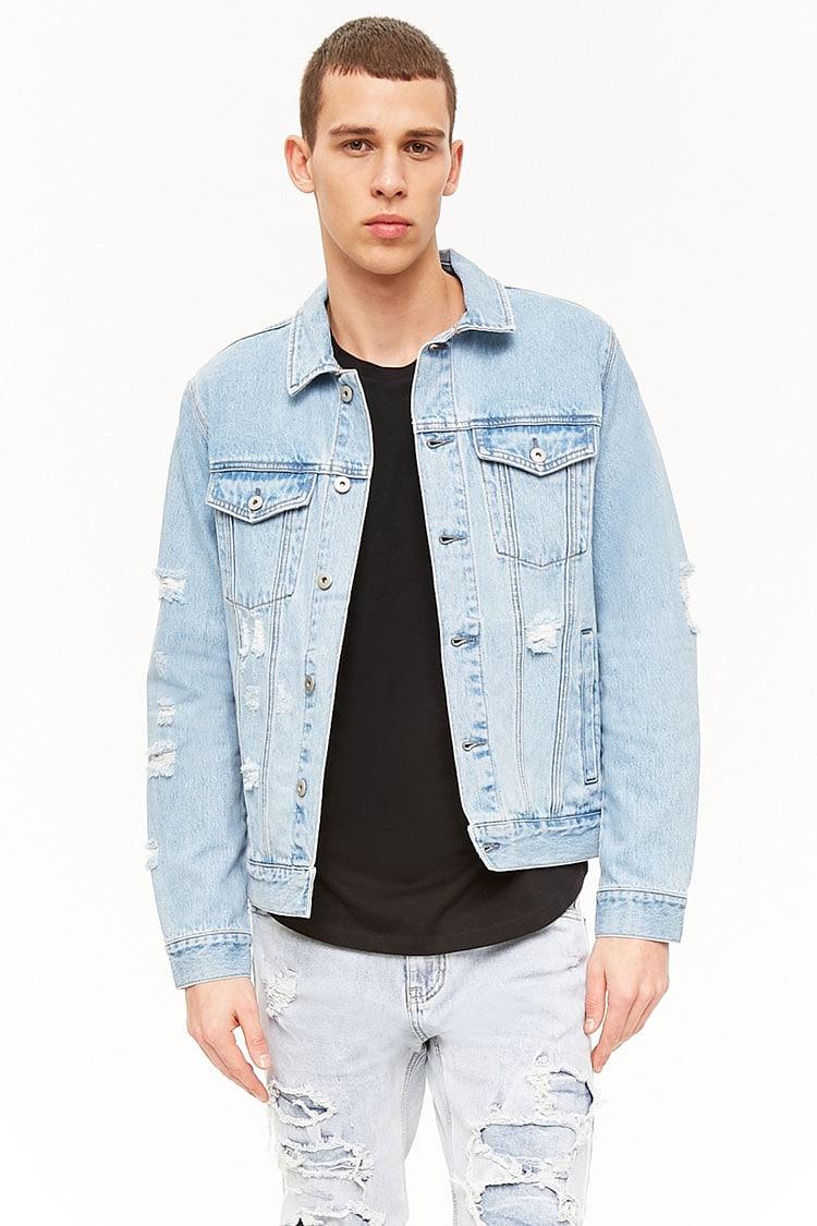 Sélection d'articles à 5€ - Ex : Veste en jean à effet délavé pour Homme