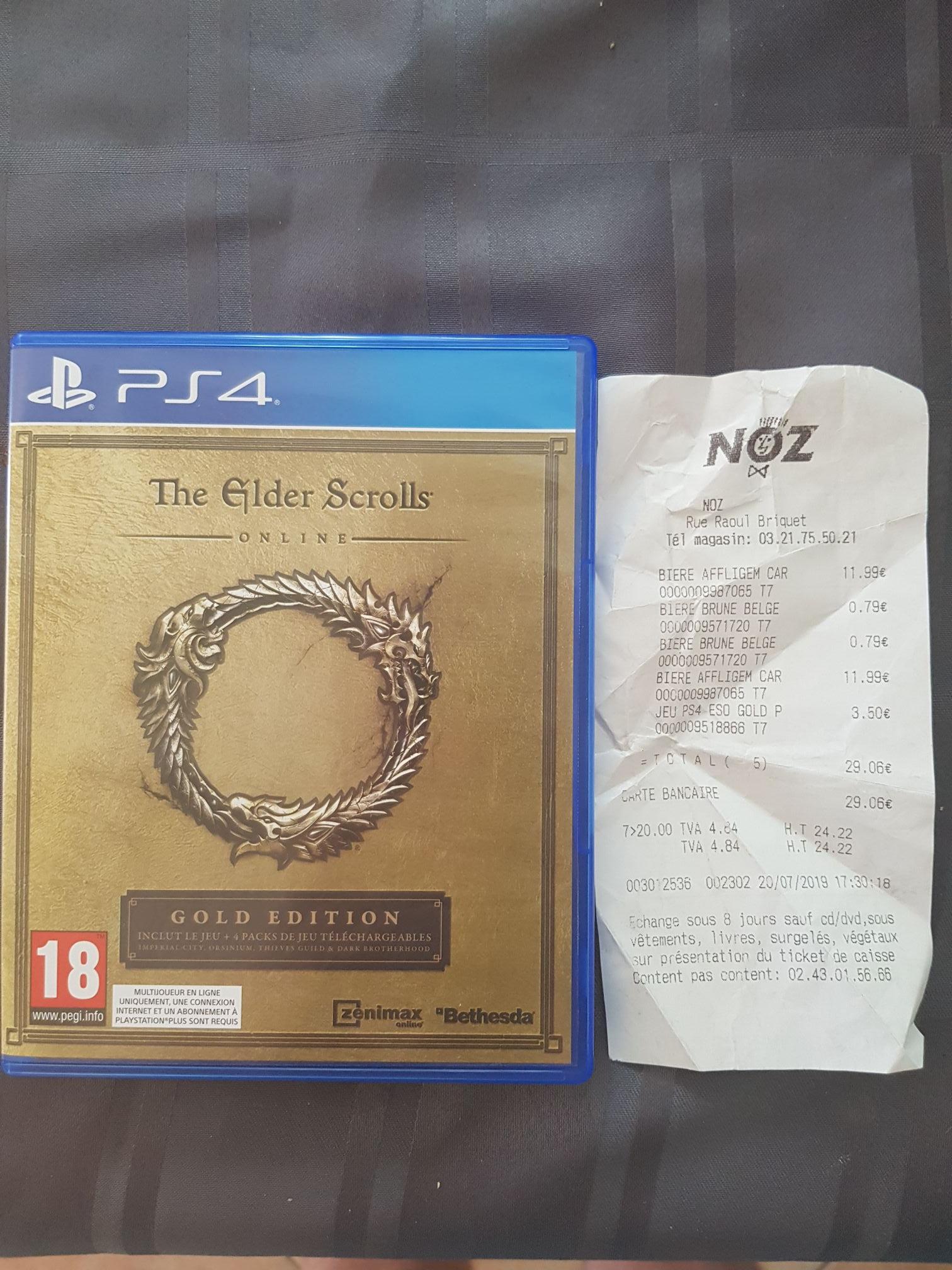 The Elder Scrolls Online - Édition Gold sur PS4