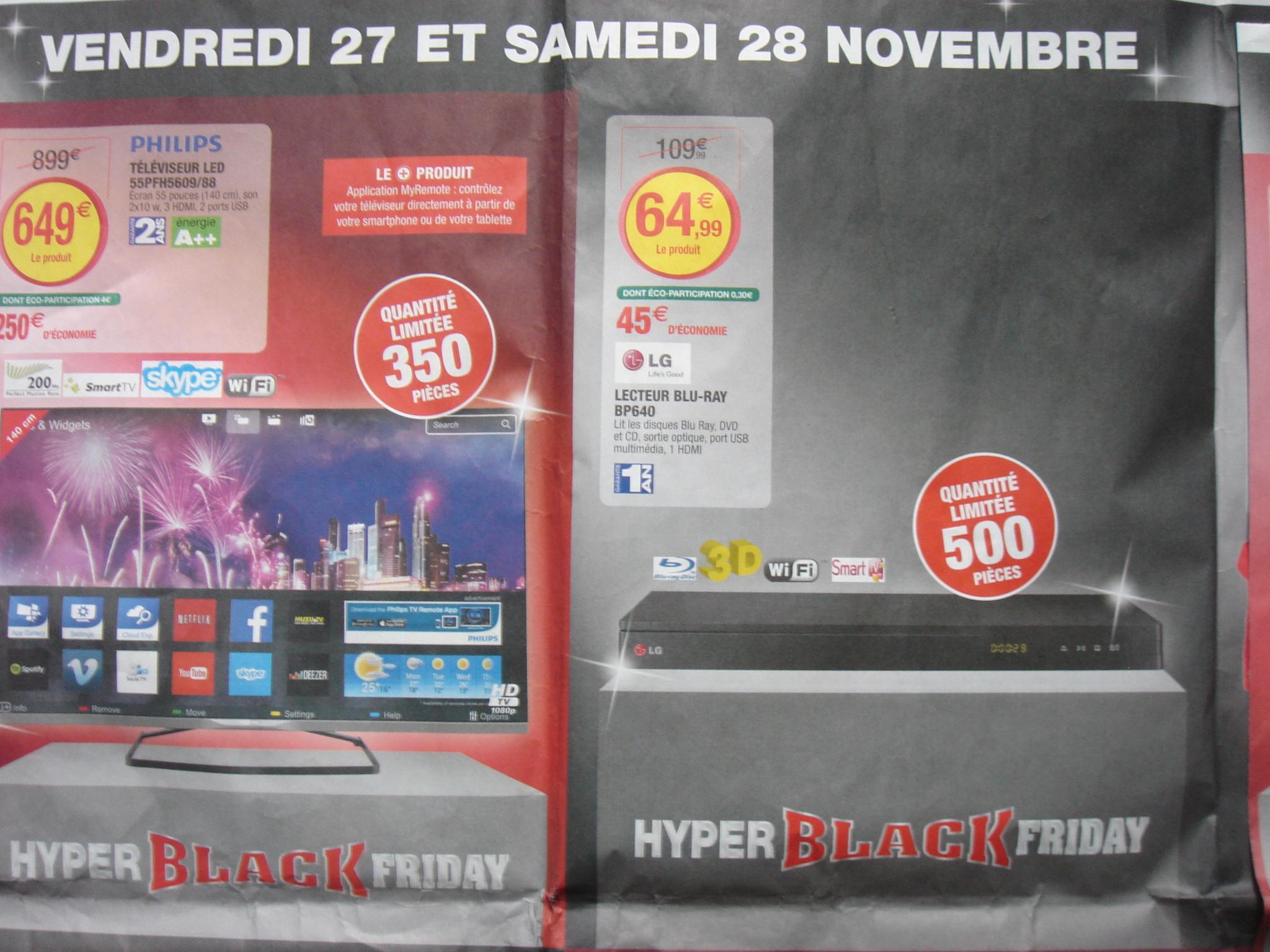 lecteur Blu Ray LG BP 640 - 3D, Wifi, Smart TV