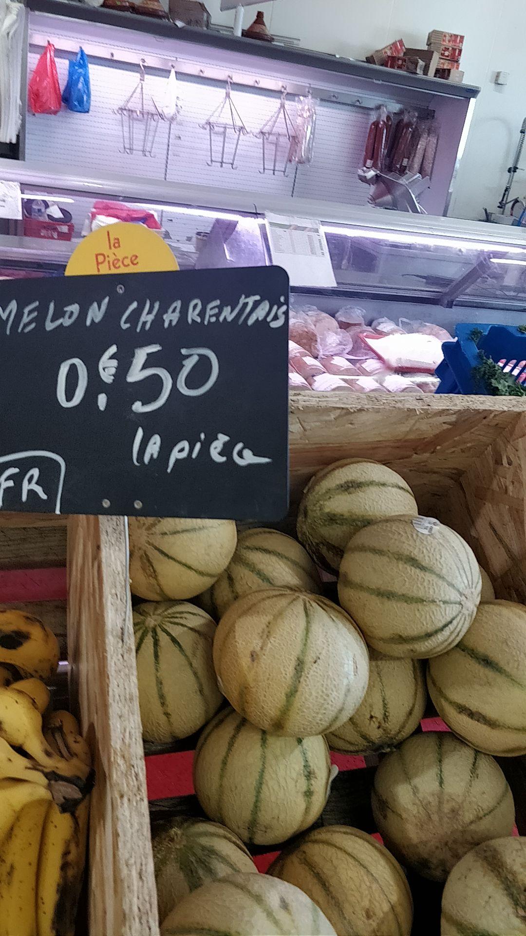 Melon Charentais - Ferme de l'oise Ableiges (95)