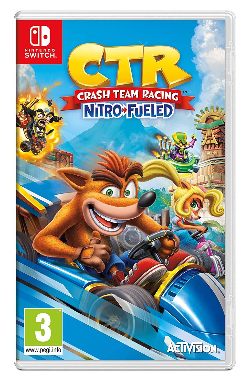 Sélection de Jeux en Promotion sur Nintendo Switch pour la reprise d'un jeu parmi une sélection - Ex: Crash Team Racing à 0,01€