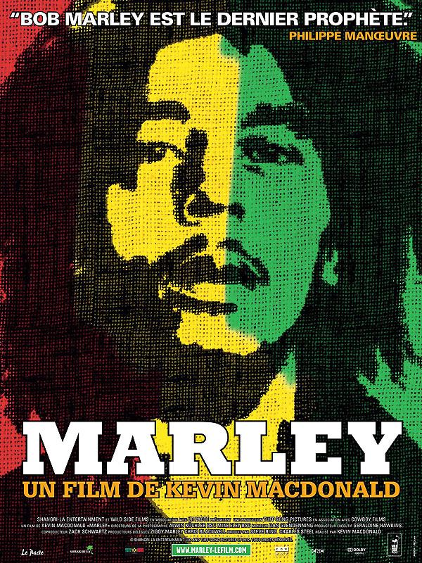 Documentaire Marley visionnable gratuitement en streaming (Dématérialisé)