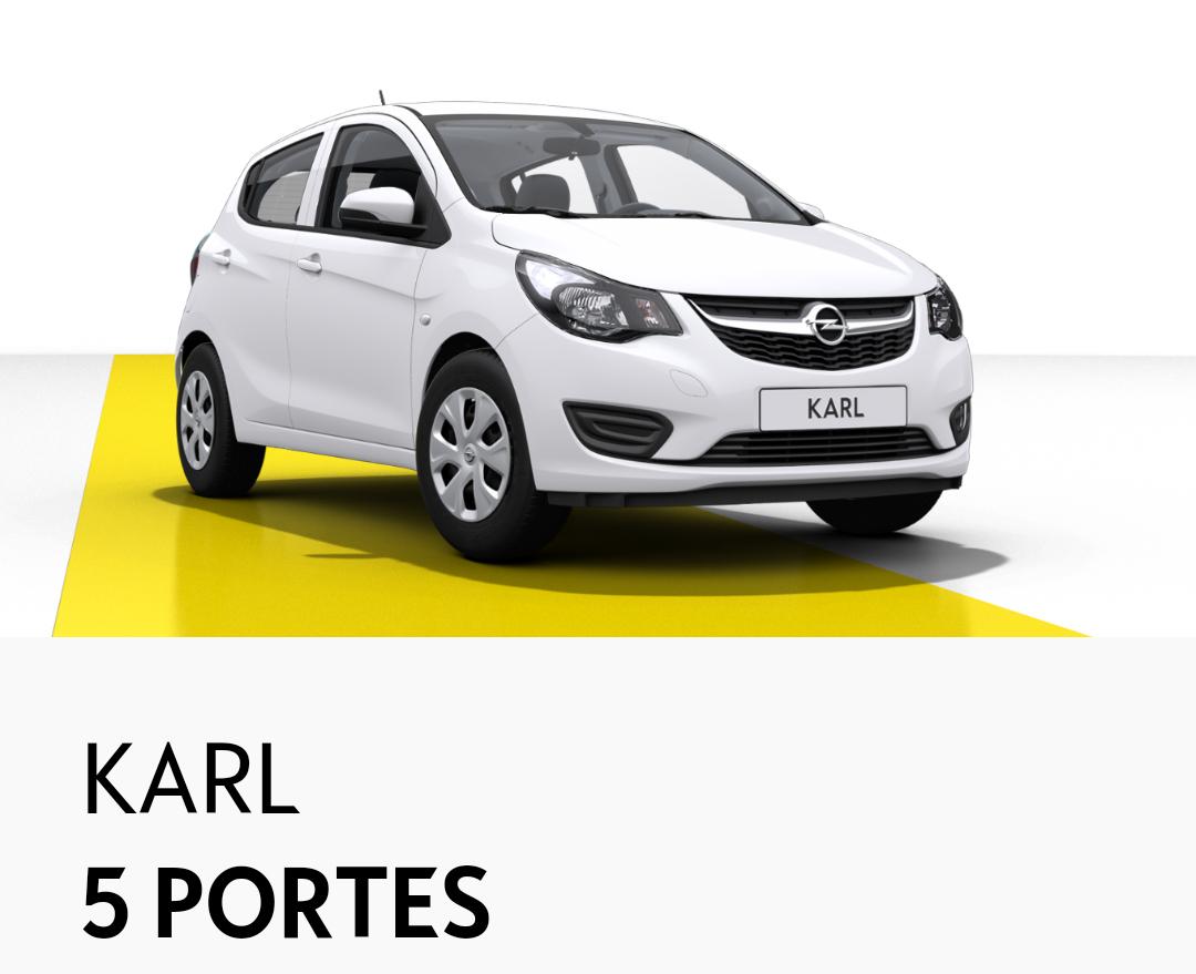 [Sous conditions] Voiture Opel Karl Édition 1.0 73ch avec climatisation (via reprise de votre ancienne voiture)