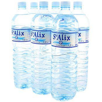 1 Pack d'eau St Alix offert des 15€ d'achat en Magasin ou Drive - 6 x 1.5L - Bain de Bretagne (35)