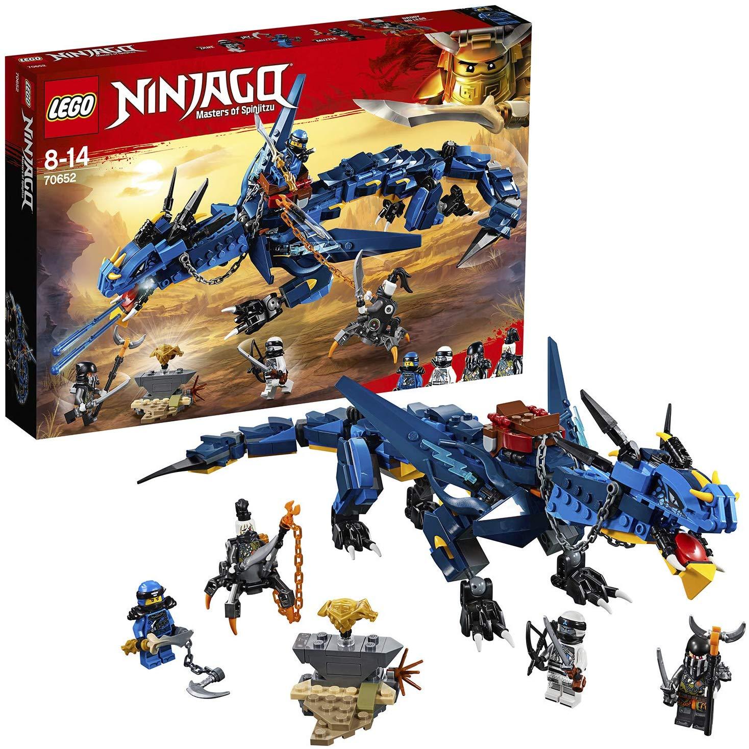 LEGO Ninjago - Le dragon Stormbringer (70652)