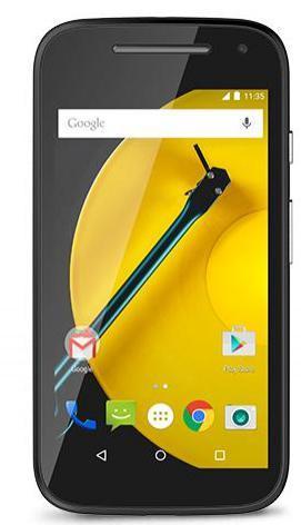 "Smartphone 4.5"" Motorola Moto E 4G 8 Go"